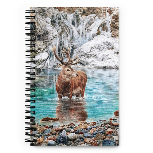 """Notebook """"The Freezing Stag"""" by Beckykidus"""