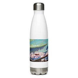 """Water Bottle """"Sea of Clouds"""" by Ashnoalice"""