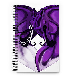 "Notebook ""Aconitum CreamPie"" by Astralseed"