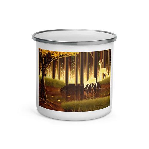 """Enamel Mug """"Majestic"""" by Lizkay"""