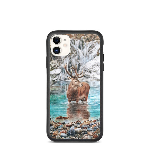 """iPhone case """"The Freezing Stag"""" by Beckykidus"""