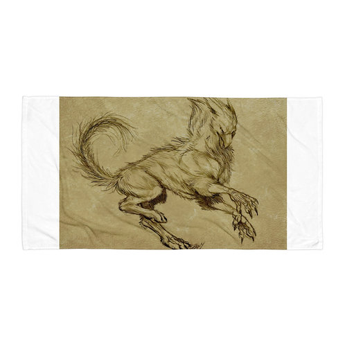 """Beach Towel """"Printing"""" by Lizkay"""