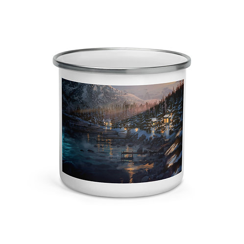 "Enamel Mug ""Lake Tahoe"" by ""chateaugrief"""