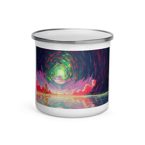 "Enamel Mug ""Rewrite the Sky"" by Ashnoalice"