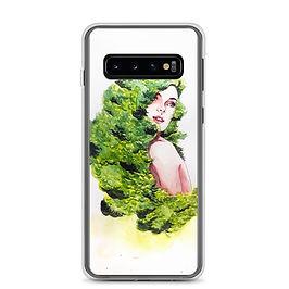 """Samsung Case """"Greens"""" by Bikangarts"""