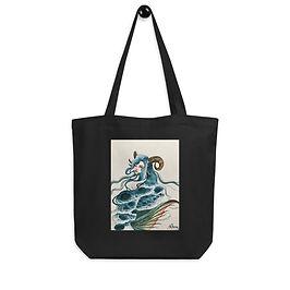 """Tote bag """"Capricorn"""" by Bikangarts"""