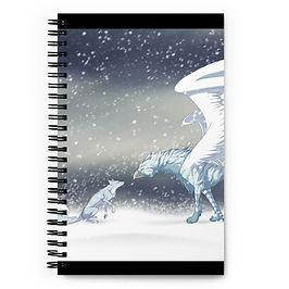 """Notebook """"Frost"""" by Lizkay"""