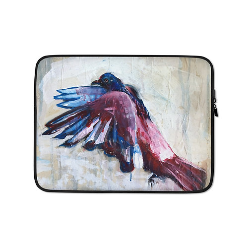 """Laptop sleeve """"City Bird"""" by MikeOncley"""