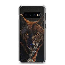 "Samsung Case ""Black on Black"" by beckykidus"