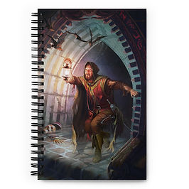 """Notebook """"Dungeons and Dragons"""" by JeffLeeJohnson"""