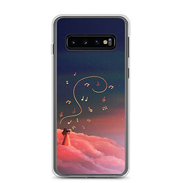 """Samsung Case """"Clouded with Music"""" by Saddielynn"""