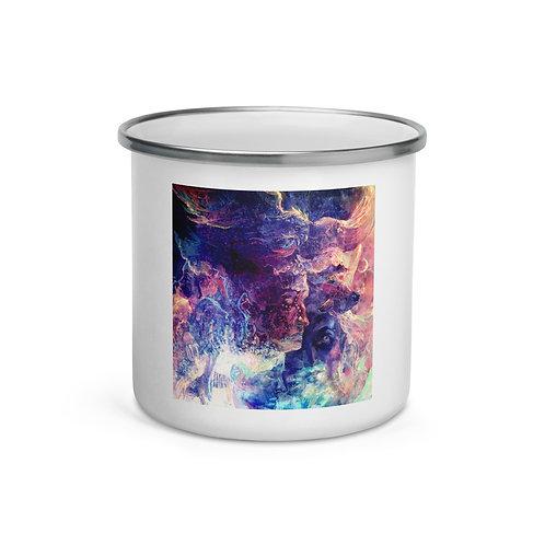 "Enamel Mug ""Eagle and the Space Carp"" by Solar-seax"