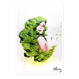 "Stickers ""Greens"" by Bikangarts"