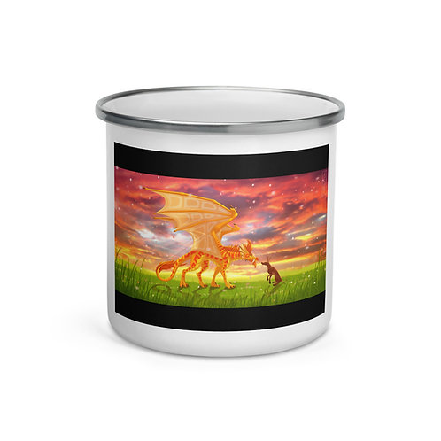 "Enamel Mug ""Bloom"" by Lizkay"