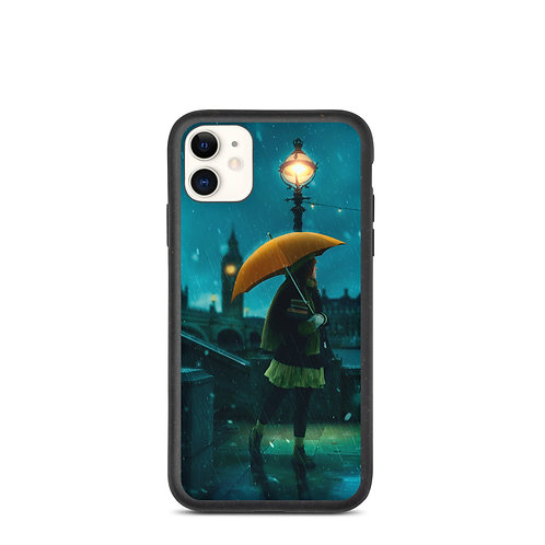 """iPhone case """"Under the Rain"""" by Elysekh"""