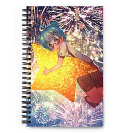 """Notebook """"Star Girl"""" by Pigliicorn"""