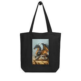 """Tote bag """"Ash Dragon"""" by """"el-grimlock"""""""