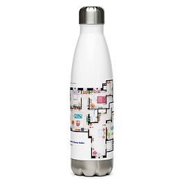 """Water Bottle """"Will and Grace"""" by """"NikNeuk"""""""