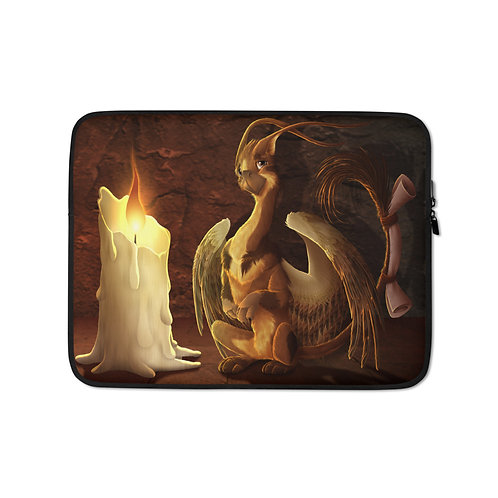 """Laptop sleeve """"Message for You"""" by Lizkay"""