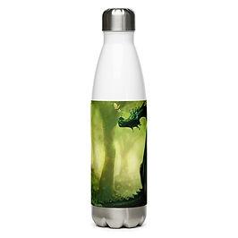 "Water Bottle ""Forest"" by Hymnodi"