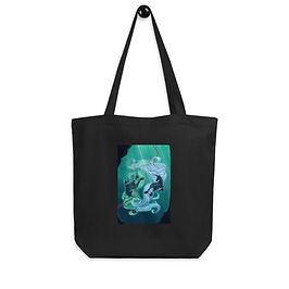 """Tote bag """"Drown"""" by Astralseed"""