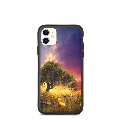 """iPhone case """"The Firefly Tree"""" by Elysekh"""