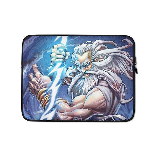 """Laptop sleeve """"Zeus"""" by El-grimlock"""