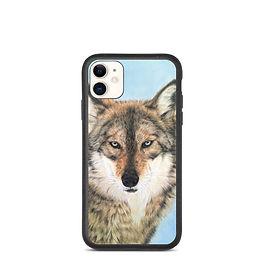 "iPhone case ""Ice Blue Eyes"" by Beckykidus"
