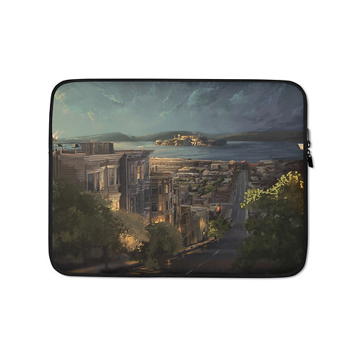 """Laptop sleeve """"Alcatraz"""" by Chateaugrief"""