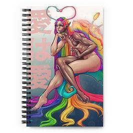 """Notebook """"Ai Wa Ai"""" by DasGnomo"""