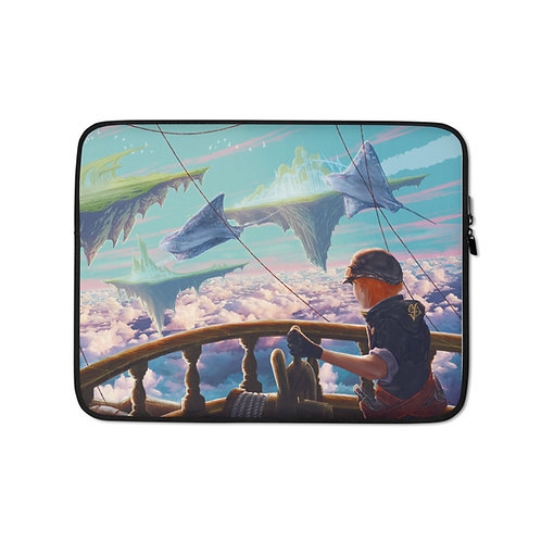 """Laptop sleeve """"Sea of Clouds"""" by Ashnoalice"""