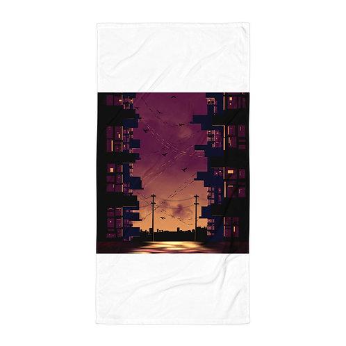 """Beach Towel """"On My Own Now"""" by Saddielynn"""