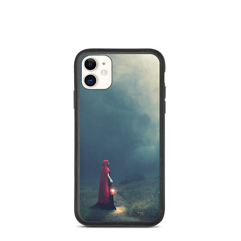 """iPhone case """"Meeting in the Fog"""" by Elysekh"""