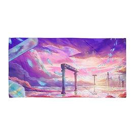 """Beach Towel """"Lost in Memories"""" by Ashnoalice"""