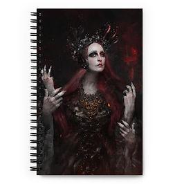 """Notebook """"Narcissus"""" by Dark-indigo"""