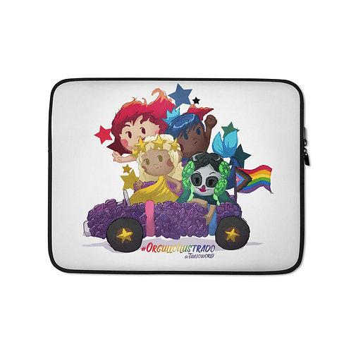 """Laptop sleeve """"Pride 2020"""" by Thiefoworld"""