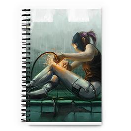 "Notebook ""Self Help"" by Hymnodi"