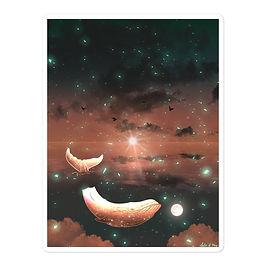 "Stickers ""Clouded Dreams"" by Saddielynn"