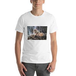 "T-Shirt ""Wolf Waterfall"" by Beckykidus"