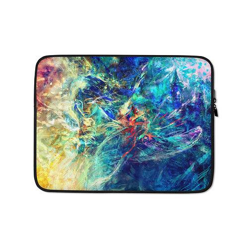 "Laptop sleeve ""My Indigo"" by Solar-sea"