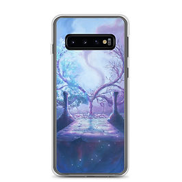 "Samsung Case ""Crescent Tree"" by Ashnoalice"