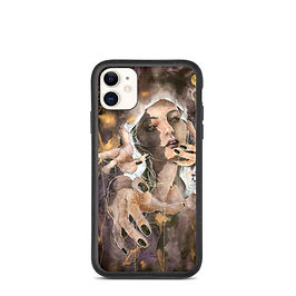 """iPhone case """"The Ghost Inside"""" by Bikangarts"""