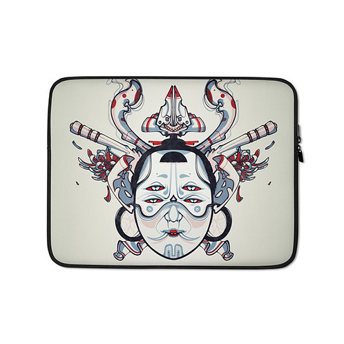 """Laptop sleeve """"hdvecpres"""" by Remiismeltingdots"""
