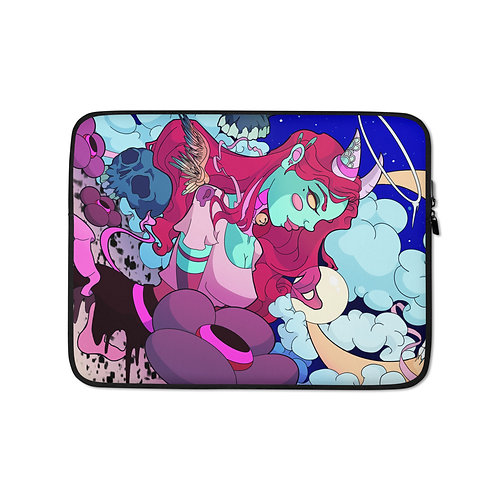 """Laptop sleeve """"Lost in Wonder"""" by MoxxiMonroe"""