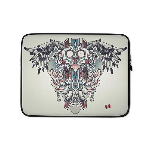 """Laptop sleeve """"Majorasvecprint2"""" by Remiismeltingdots"""