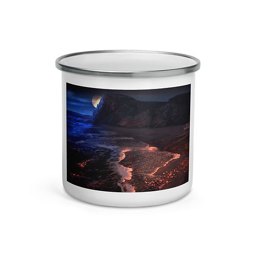 """Enamel Mug """"Sculptured Beach"""" by """"chateaugrief"""""""