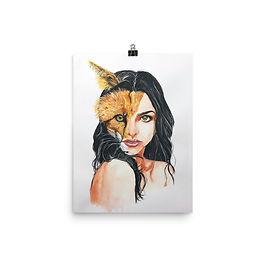 """Poster """"A Beautiful Beast"""" by Bikangarts"""