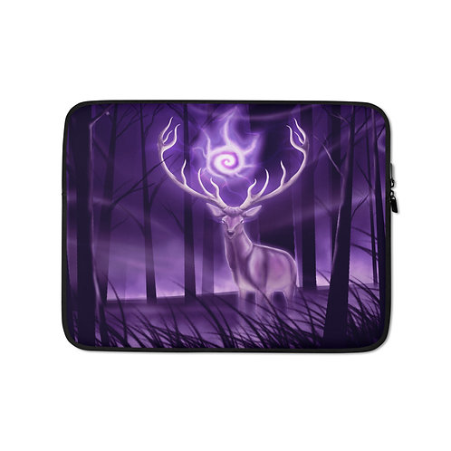 """Laptop sleeve """"Stag"""" by Astralseed"""