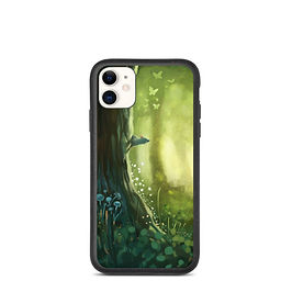 """iPhone case """"Forest"""" by Hymnodi"""