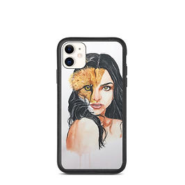 "iPhone case ""A Beautiful Beast"" by Bikangarts"